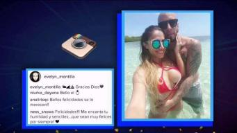Alexis y Evelyn Montanilla se casan en secreto