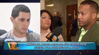 Amigos esperan la justicia para Arellys Mercado
