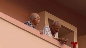 Ancianos también sufrieron estragos por el apagón