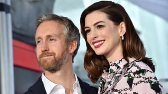 Anne Hathaway espera a su segundo hijo