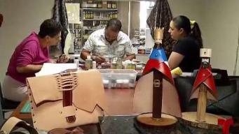 Aprende a crear artesanías en piel