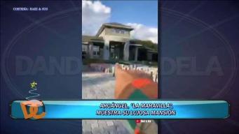 Arcángel muestra su nueva mansión