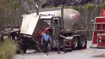 Buscan a conductor que provocó muerte de mujer en Ponce