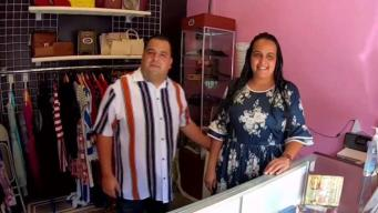 Carencia de ropa impulsa a pareja a crear su propio negocio