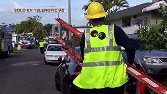 Celador sufre terrible caída en Puerto Nuevo