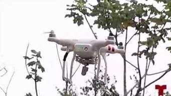 """Celadores se las ingenian para energizar con un """"drone"""""""