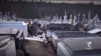 Cementerio de Lares sigue con osamentas expuestas tras María