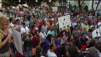 Cientos se reúnen en San Juan contra el Naled