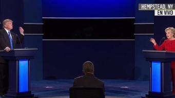 Clinton y Trump se entrecruzan por el tema de empleos