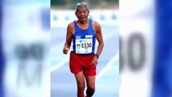 Completa maratón San Blas a los 91 años