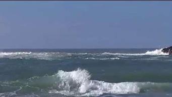 Condiciones del mar dificultan búsqueda de surfer