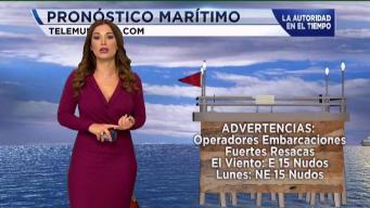 Continúan peligrosas las condiciones del mar