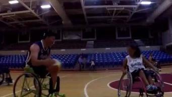 DRD invita a torneo de baloncesto en silla de ruedas