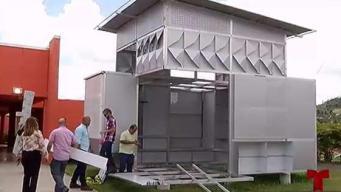 Diseñan casas temporeras para damnificados de María