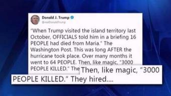 Donald Trump vuelve al ataque contra gobierno local