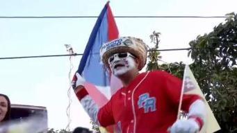 Edgar Martínez celebra por todo lo alto con su pueblo