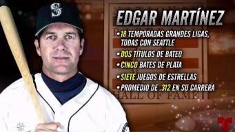 Edgar Martínez confiado y contento