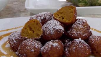 En la cocina: buñuelos de calabaza