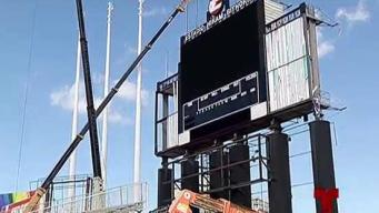 Nueva luminaria para el Estadio Hiram Bithorn