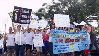 Estudiantes de escuela elemental reclaman acción