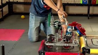 Estudiantes se preparan para representar a Puerto Rico en competencia de robótica