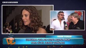Ex de Denise Quiñones todavía siente amor por ella