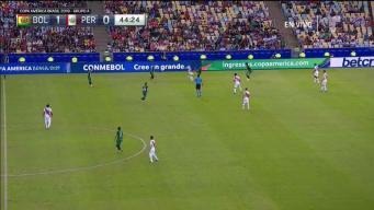 ¡Gol! Guerrero empata contra Bolivia