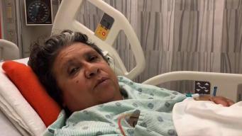 Abuela baleada cuando dormía con sus tres nietos