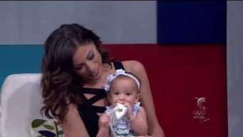 Hermosa la bebé de Jessica Serrano