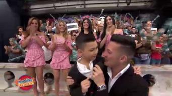 """Hijo de Alex DJ sorprende con presentación en """"Puerto Rico Gana"""""""