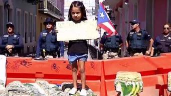 Hijos de policías piden manifestaciones en paz