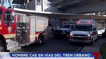 Autoridades dan versiones diferentes sobre accidente en estación de Torrimar