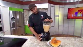 Hoy en la cocina: flan de calabaza y coco