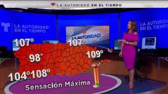 Índice de calor sobrepasó los 108 grados