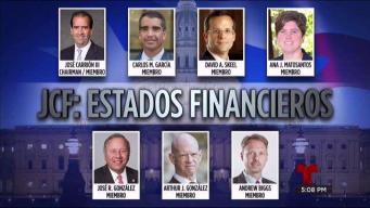 Exclusiva: miembros de la JCF ocultan ingresos