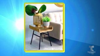 Integra los colores metálicos a cualquier decoración