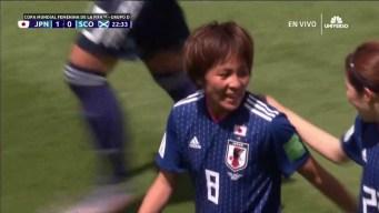 Sablazo de Iwabuchi pone a las japonesas 1-0 sobre Escocia