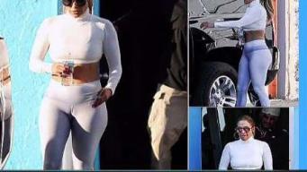 Jennifer López calienta las redes con apretados pantalones