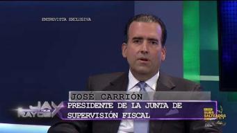 José Carrión envía mensaje a los puertorriqueños
