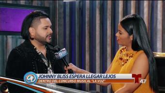 "La gran expectativa de Johnny Bliss en ""La Voz"""