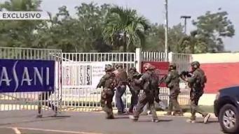 Ladrones provocan masiva movilización del SWAT