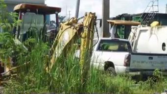 Pésimas las carreteras y áreas verdes en San Juan