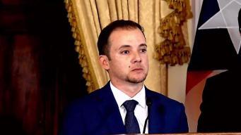 Renuncia el secretario de la Gobernación