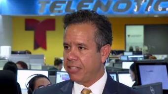 Miguel Romero anticipa salida de funcionarios por chat