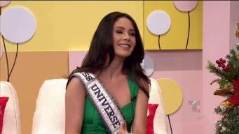 Danna Hernández lloró al no entrar a las finalistas en Miss Universe