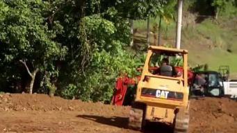 Municipio de Barranquitas trabaja en la reconstrucción de puente