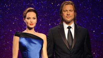 Brad Pitt y Angelina Jolie de cera también se separan