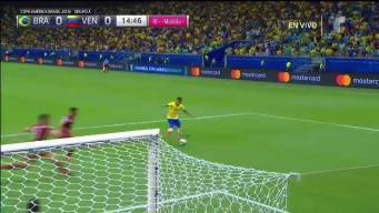 Brasil se come un gol casi cantado