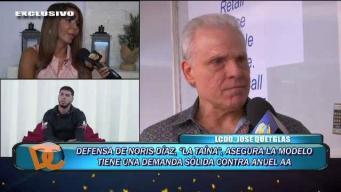 Noris Díaz firme en demanda contra Anuel AA