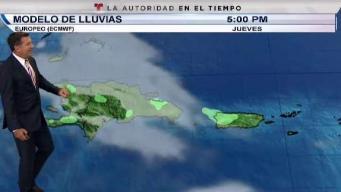 Onda tropical provocará lluvias para los próximos días